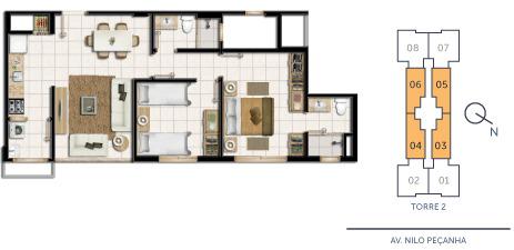 Portal Assessoria Imobiliária - Apto 2 Dorm (1020) - Foto 5