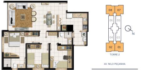 Portal Assessoria Imobiliária - Apto 2 Dorm (1020) - Foto 6