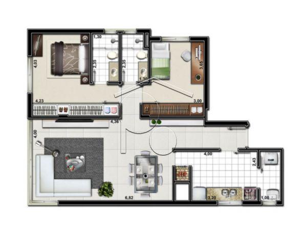 Portal Assessoria Imobiliária - Apto 2 Dorm (1042) - Foto 4