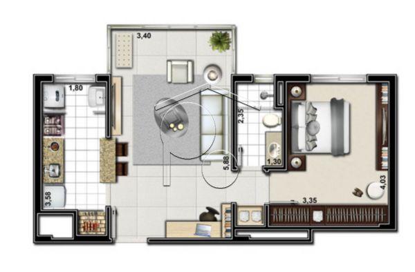 Portal Assessoria Imobiliária - Apto 2 Dorm (1042) - Foto 5
