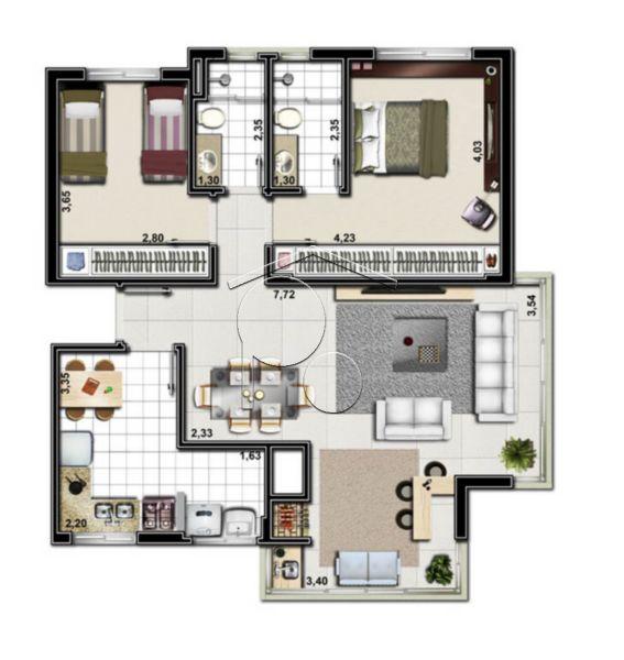 Portal Assessoria Imobiliária - Apto 2 Dorm (1042) - Foto 6