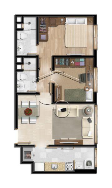 Portal Assessoria Imobiliária - Apto 2 Dorm (1254) - Foto 11
