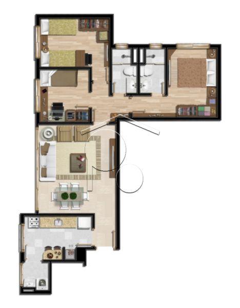 Portal Assessoria Imobiliária - Apto 2 Dorm (1254) - Foto 12