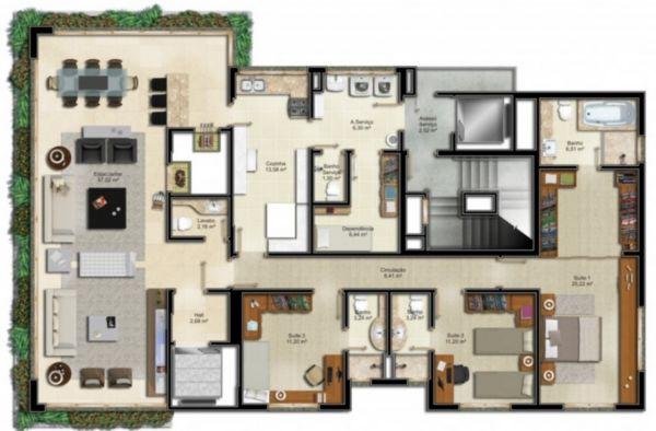 Portal Assessoria Imobiliária - Apto 3 Dorm (1283) - Foto 6