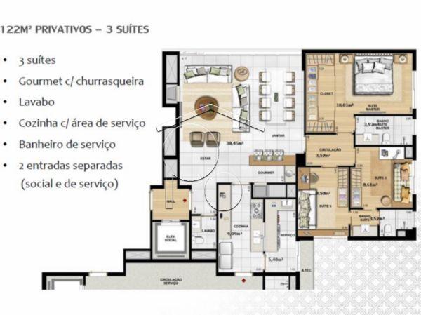 Classico Petropolis - Apto 3 Dorm, Petrópolis, Porto Alegre (1710) - Foto 9