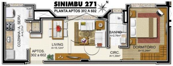 Sinimbú 271 - Apto 1 Dorm, Petrópolis, Porto Alegre (1770) - Foto 5