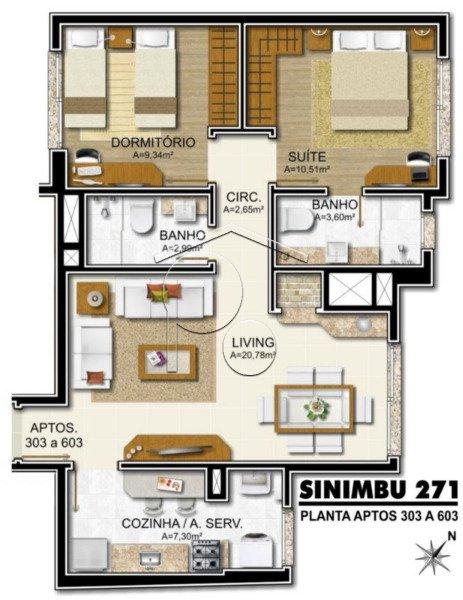 Portal Assessoria Imobiliária - Apto 1 Dorm (1771) - Foto 4
